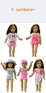 american girl doll swimsuit 18 inch doll swimsuit doll swimwear  for  18 inch american girl dolls