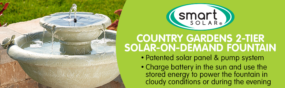 Country Gardens Solar-on-Demand Technoloy