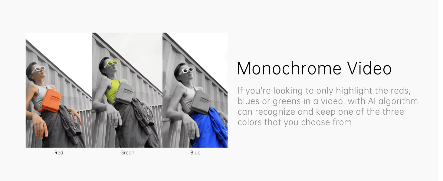 Monochrome Video