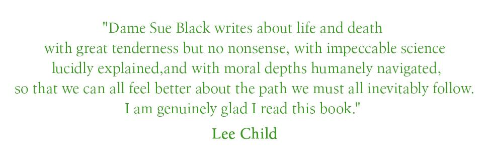 I'm genuinely glad I read this book - Lee Child
