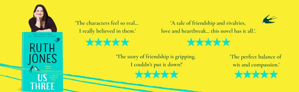 Ruth Jones, Us Three, Reader Reviews