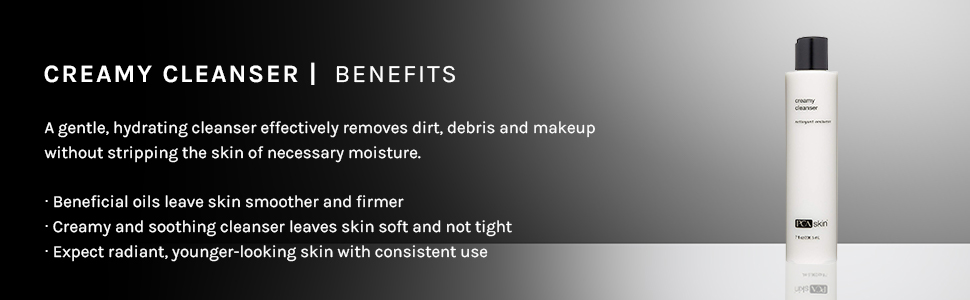 creamy cleanser benefit benefits hydrating gentle removes dirt makeup moisture smooth firm soft