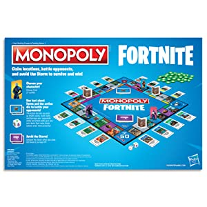 fortnite;monopoly;hasbro gaming;games;toys;girls toys;tilted towers;board games;epic games;fortnight
