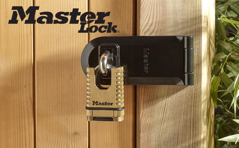 Master Lock, hangslot, master hangslot, combinatie hangslot, heavy duty hangslot