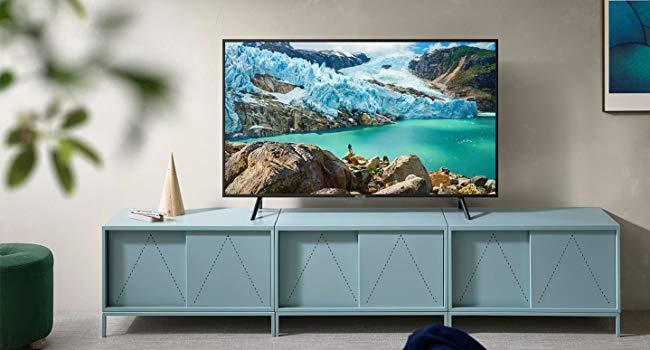 Samsung UN50RU7100FXZA Flat -Best 50-Inch 4K Smart TV