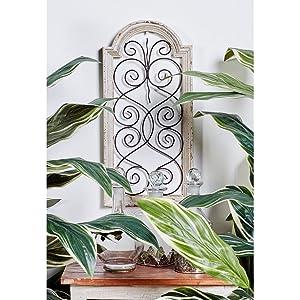 Deco 79 52790 Wood Wall Panel