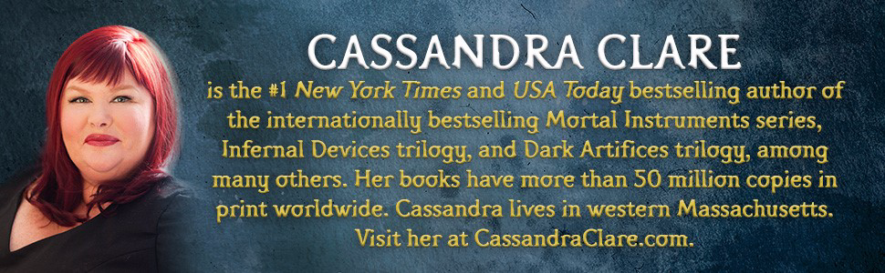 Cassandra Clare; Chain of Iron; Mortal Instruments; Shadowhunters;