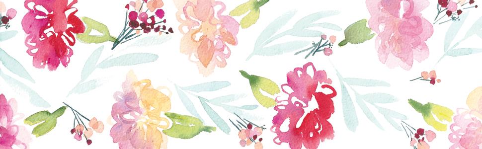 DIY Watercolour Flowers
