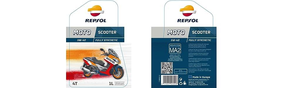 REPSOL MOTO SCOOTER 4T 10W-40