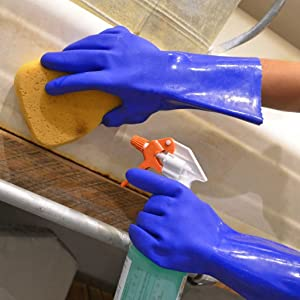 dishwashing gloves, chemical gloves, dish gloves, working hands gloves, cleaning gloves,