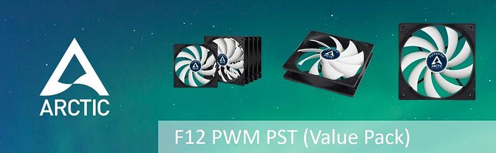 ARCTIC F12 PWM PST Value Pack
