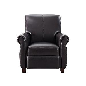 Amazon Com Dorel Living Reva Accent Chair Gray Kitchen