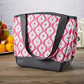 Amazon Com Fit Amp Fresh Hyannis Insulated Lunch Bag For