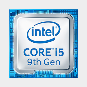 Intel i5 9th gen