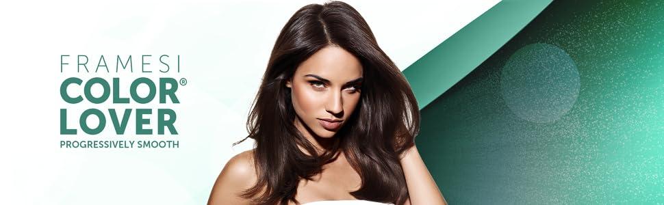 Framesi Color Lover Progressively Smooth, Penetrates deep into hair to smooth & transform hair