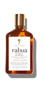 rahua classic shampoo natural fortifying rainforest green clean luxury palo santo oil amazon beauty