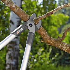 Gardena Desbrozadora de yunque, 68 cm, Negro, Plata y Turquesa ...