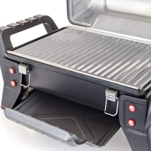 Amazon Com Char Broil Grill2go X200 Portable Tru Infrared Liquid Propane Gas Grill Garden Outdoor
