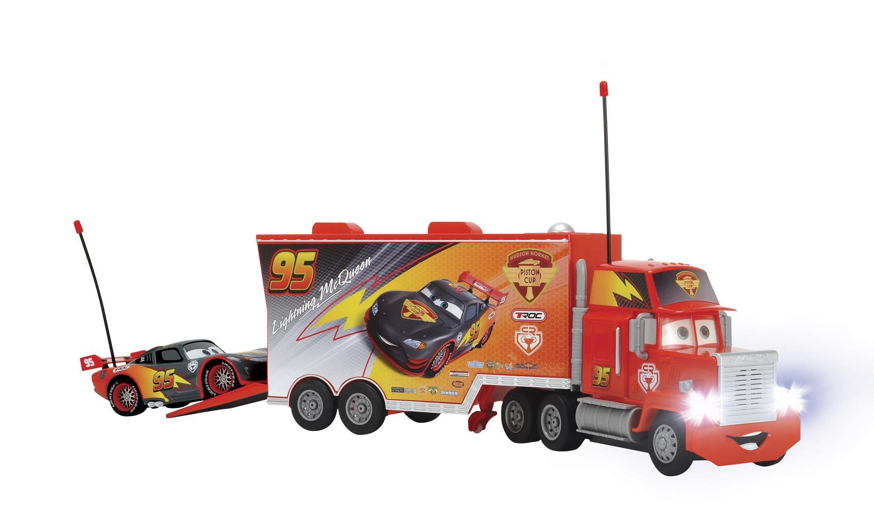 Luz Con Juguete 3089002 Y Cars Camión Negrodickie SonidoColor rCoBdWxe