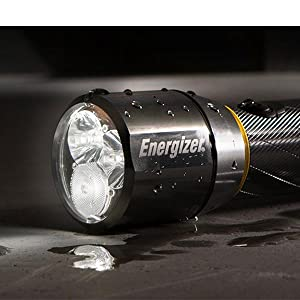 Energizer Metal Flashlight, reliable flashlight for any situation, handheld light