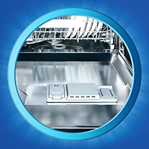 Fill the pre-wash chamber with Finish Booster. If no pre-wash chamber is present, dispense 2 tablespoons of the Finish Booster into bottom of dishwasher.