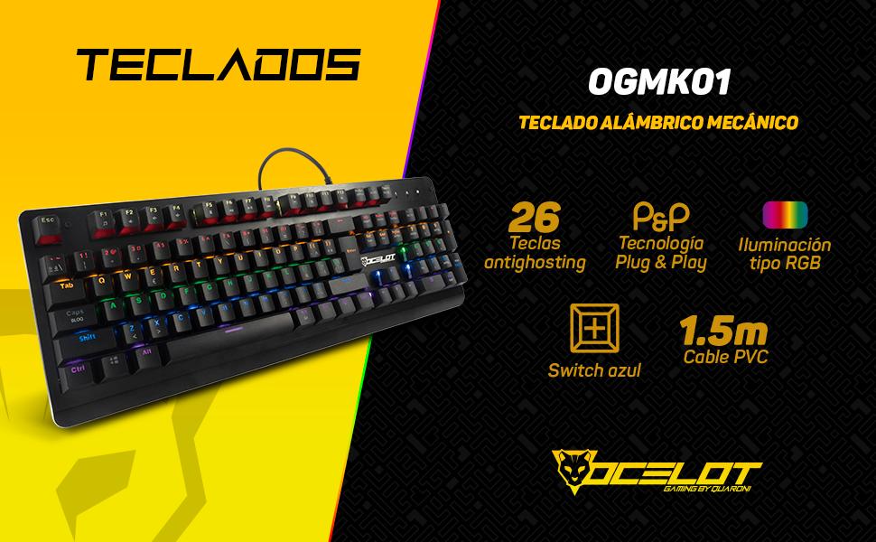 Teclado, Ocelot gaming