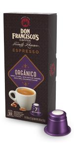 ... Don franciscos espresso capsules organico ...
