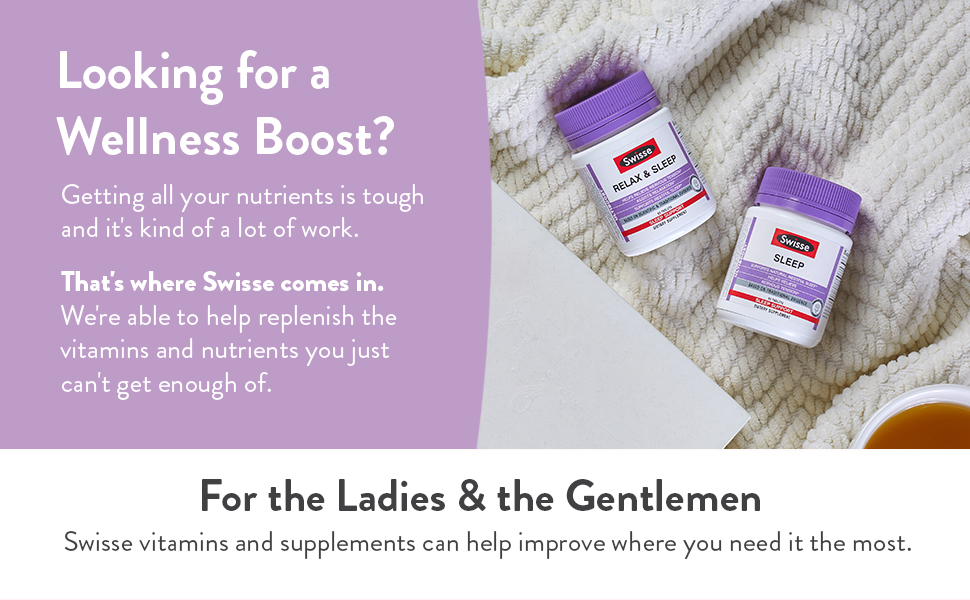 Swisse Wellness Vitamins and Herbal Supplements