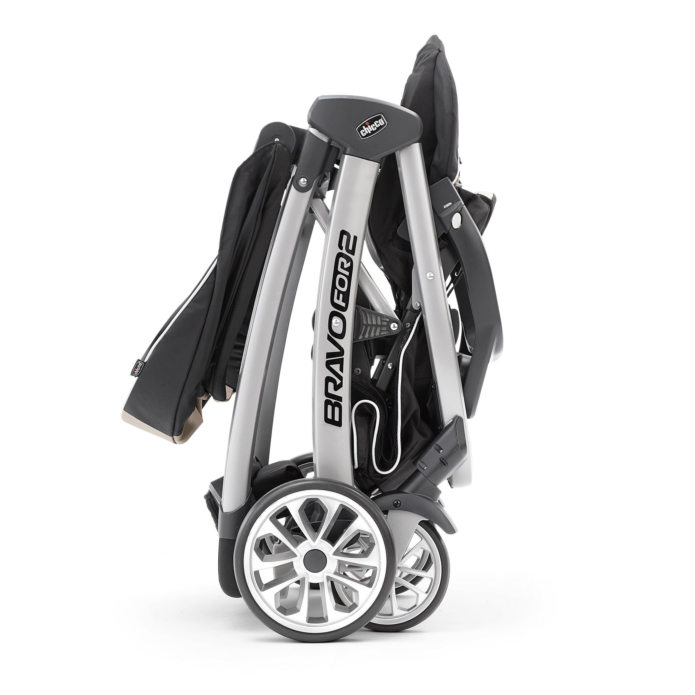 Amazon Com Bravofor2 2 Passenger Double Stroller Zinc