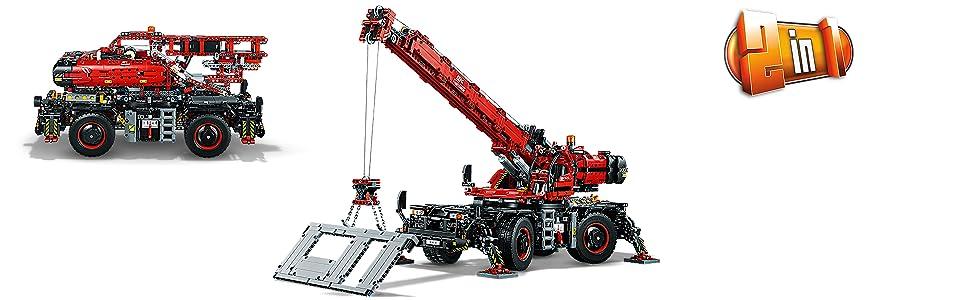 Lego 42082 Technic grúa terreno áspero