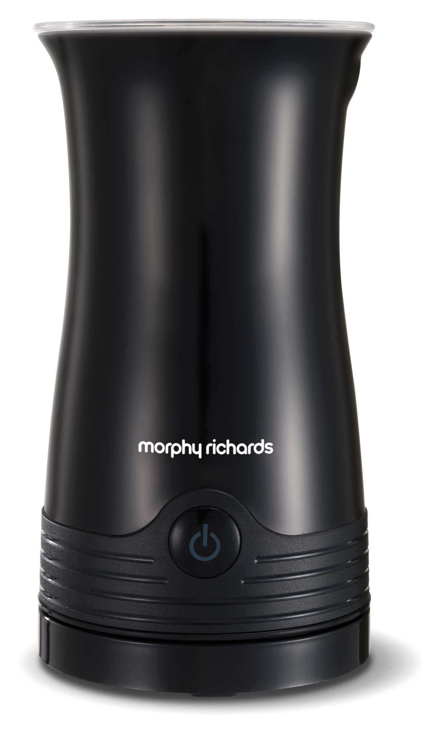 Morphy Richards Accents Milk Frother Hot And Cold Milk Frother 210002 Black Milk Frother