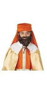 Nativity Costume, Wise Men, Balthasar, Melchior, Gaspar, Moses, Shepherd, Virgin Mary, Noah, Jesus