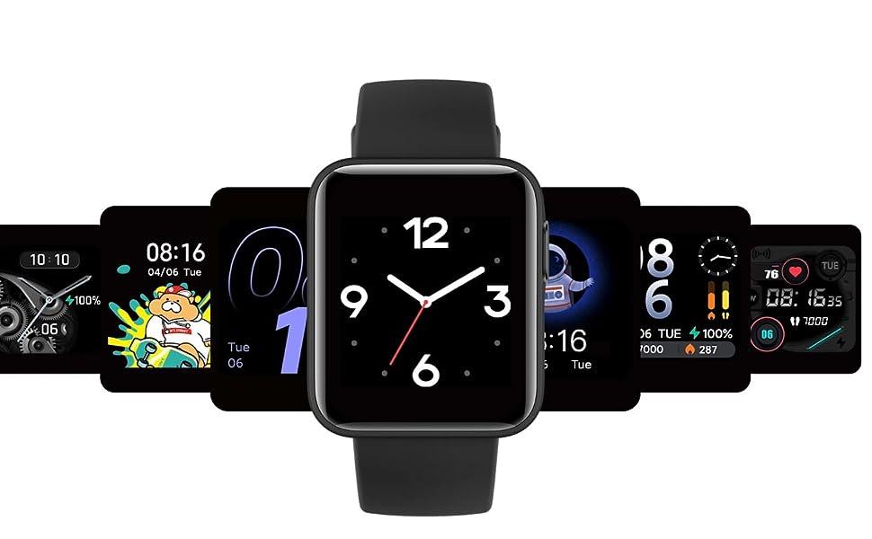 Xiaomi Mi Watch Lite - Reloj inteligente , GPS, control frecuencia cardíaca, 11 modos de entrenamiento