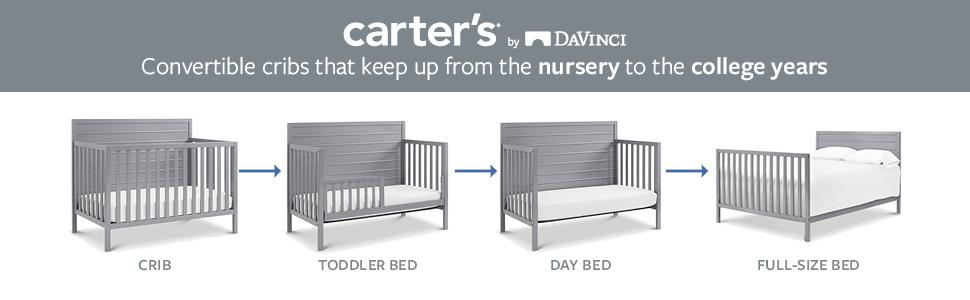 Amazon Com Carter S By Davinci Morgan 4 In 1 Convertible