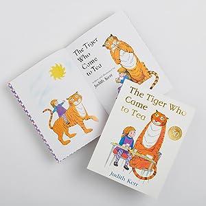 Tiger, Tea, Heritage, Children, Books, Picture Book