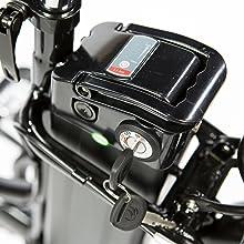 Moma Bikes E- Bike 20.2 Bicicleta Plegable electrica, Adultos ...