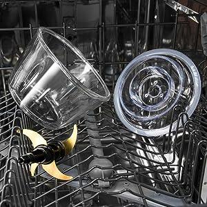 Cecotec Picadora Eléctrica TitanGlass 1000. Multifuncion (Pica, Tritura, Pulveriza, Trocea), Cuchillas Recubrimiento Titanio Desmontables, Capacidad 1l, Vidrio Resistente, 400 W: Amazon.es: Hogar