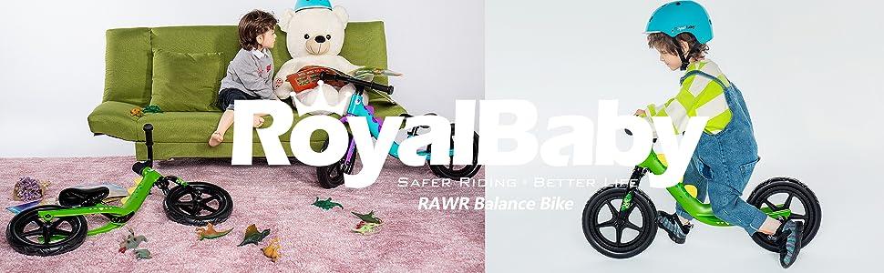 RAWR Balance Bike