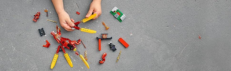 LEGO NINJAGO Legacy Kai's Fire Dragon