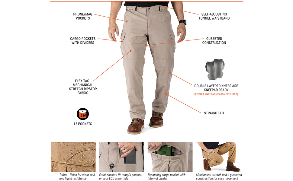5.11 stryke  Stryke Pant Unique Features