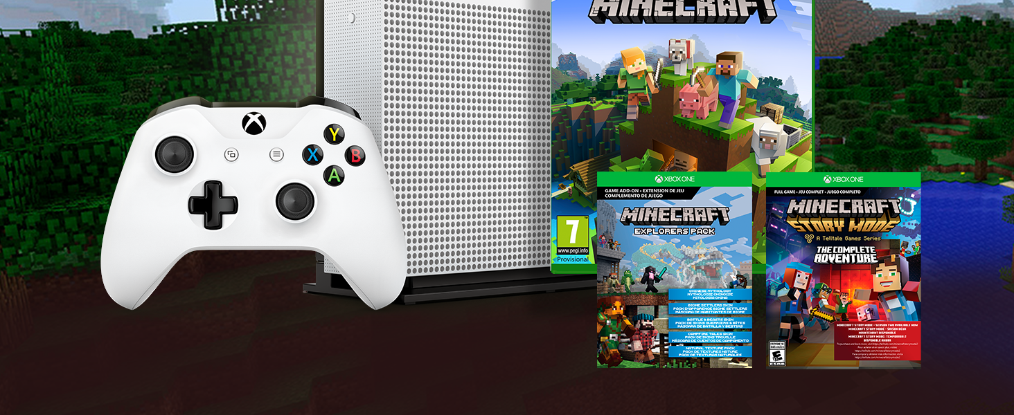 Consola S De 1 TB + Minecraft Complete Collection: Amazon.es: Videojuegos