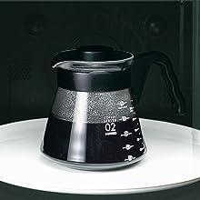コーヒー サーバー レンジ