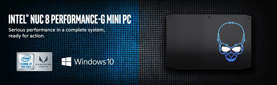 Intel NUC 8 Performance-G Mini PC (NUC8i7HVKVA1)