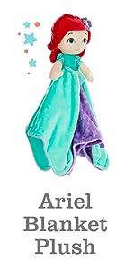 Disney Ariel blanket plush
