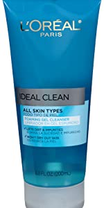 gel cleanser, foaming cleanser, facial cleanser, cleanser for face, face wash, makeup remover