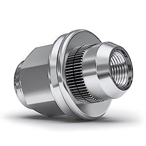 12mmx1.25 m12x1.25 mag lug nut repair replacement wheel nut