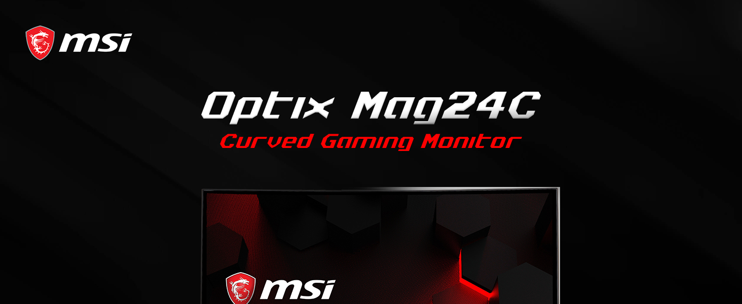 Optix MAG24C Curved Gaming Monitor 144hz