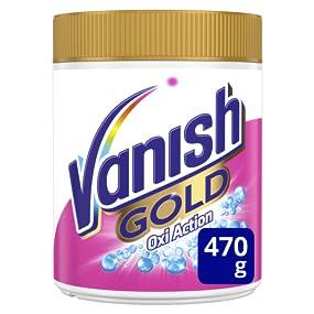 Vanish Oxiaction Gold Powder Detergente en Polvo - 470 gr: Amazon.es: Alimentación y bebidas