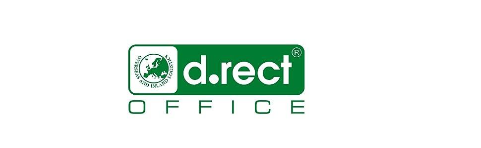 D.RECT Rei/ßverschlusstasche A5 H/ände