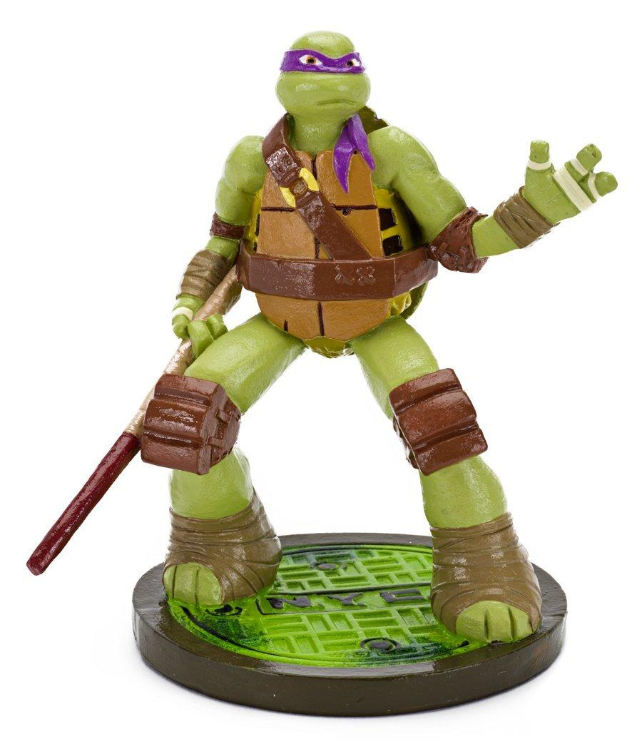 Penn Plax Teenage Mutant Ninja Turtles Michelangelo Aquarium Ornament, Mini